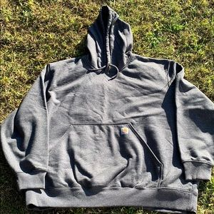 NWOT Gray Carhartt Pullover Sweatshirt